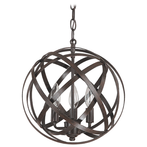 Capital Lighting Capital Lighting Russet Pendant Light 4233RS