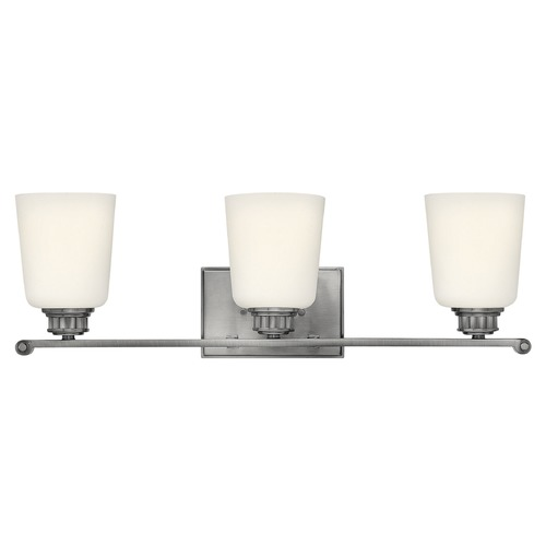 Hinkley Lighting Hinkley Lighting Annette Polished Antique Nickel Bathroom Light 53323PL