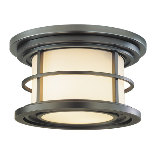Feiss Lighting Feiss Lighting Lighthouse Burnished Bronze LED Close To Ceiling Light OL2213BB-LED