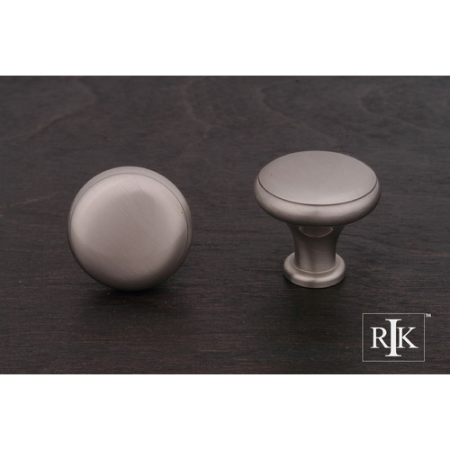 RK International Solid Knob with Flat Edge CK9305P