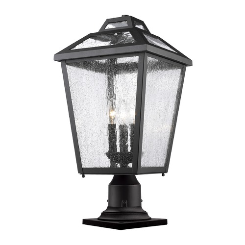 Z-Lite Z-Lite Bayland Black Post Light 539PHBR-533PM-BK