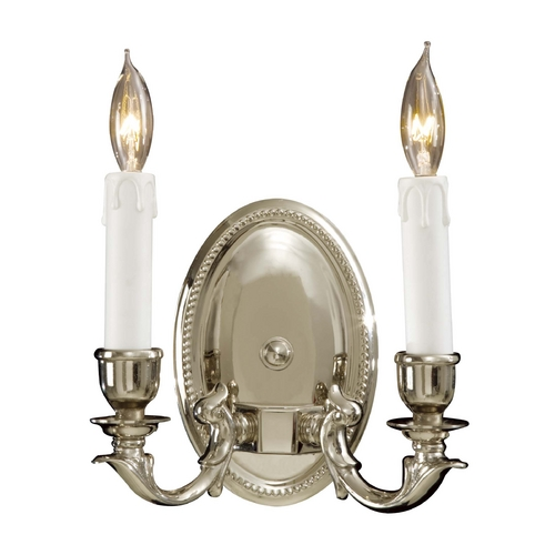 Metropolitan Lighting Sconce Wall Light in Polished Chrome Finish N9809-PC