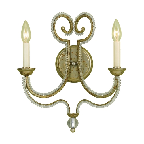 AF Lighting Sconce Wall Light in Gold Finish 6739-2W