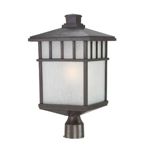 Dolan Designs Lighting 20-1/2-Inch Mission Outdoor Post Light 9118-34