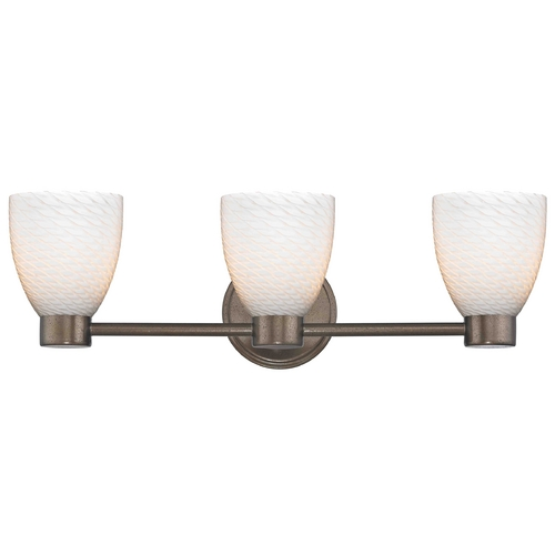 Design Classics Lighting Design Classics Lighting Aon Fuse Heirloom Bronze Bathroom Light 1803-62 GL1020MB