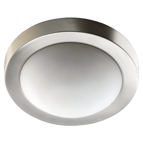 Quorum Lighting Quorum Lighting Satin Nickel Flushmount Light 3505-13-65