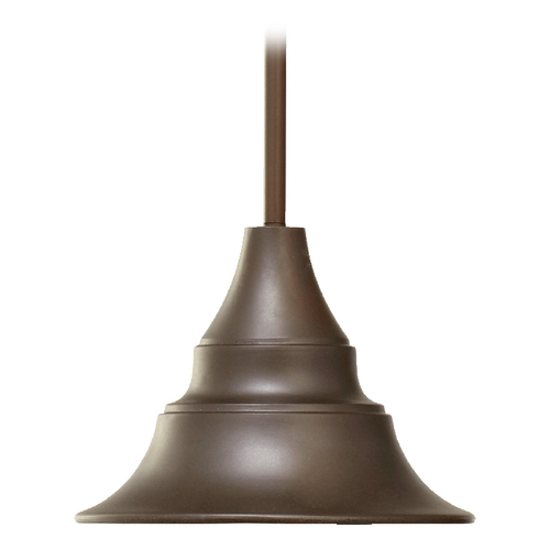 Quorum Lighting Quorum Lighting Sombra Oiled Bronze Outdoor Hanging Light 768-11-86