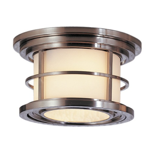 Feiss Lighting Feiss Lighting Lighthouse Brushed Steel LED Close To Ceiling Light OL2213BS-LED