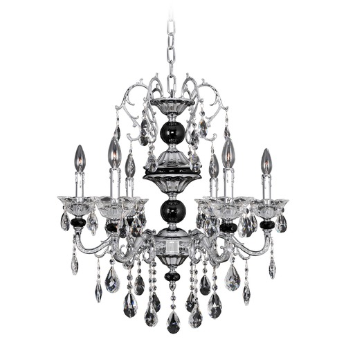 Allegri Lighting Faure 6 Light Crystal Chandelier 024350-010-FR001