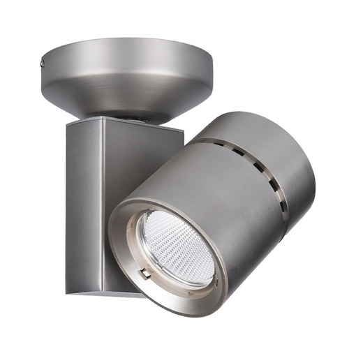 WAC Lighting WAC Lighting Brushed Nickel LED Monopoint Spot Light 3000K 1535LM MO-1023F-930-BN