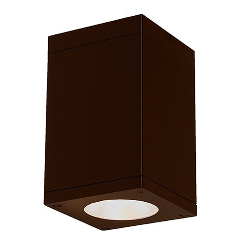 WAC Lighting Wac Lighting Cube Arch Bronze LED Close To Ceiling Light DC-CD05-F835-BZ