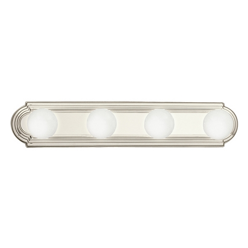 Kichler Lighting Kichler Bathroom Light in Brushed Nickel Finish 5017NI