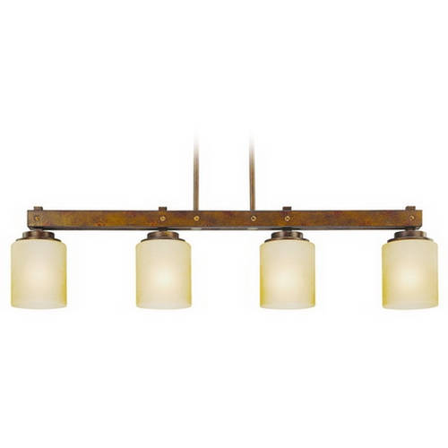 Dolan Designs Lighting Four-Light Island Pendant 2709-90