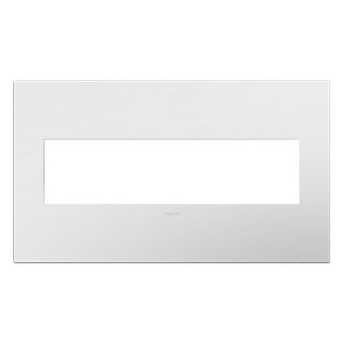 Legrand Adorne Legrand Adorne Gloss White 4-Gang Switch Plate AWP4GWH4