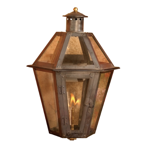 Elk Lighting Outdoor Wall Light with Clear Glass in Washed Pewter Finish 7921-WP