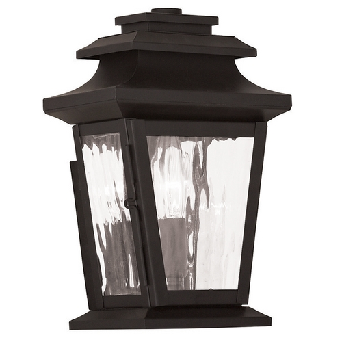 Livex Lighting Livex Lighting Hathaway Bronze Outdoor Wall Light 20255-07