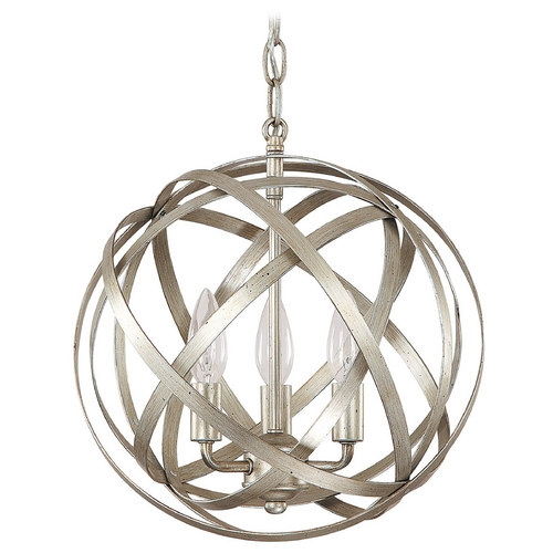 Capital Lighting Capital Lighting Winter Gold Pendant Light 4233WG