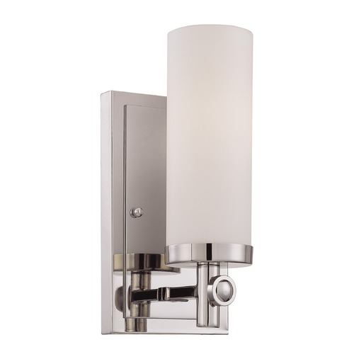 Savoy House Savoy House Polished Nickel Sconce 9-1027-1-109
