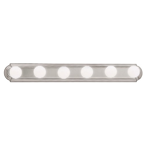 Kichler Lighting Kichler Bathroom Light in Brushed Nickel Finish 5018NI