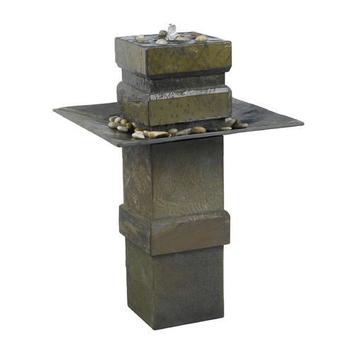 Kenroy Home Lighting Fountain in Natural Slate Finish 53210SL