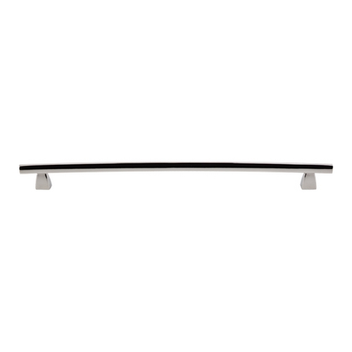 Top Knobs Hardware Modern Cabinet Pull in Polished Nickel Finish TK6PN