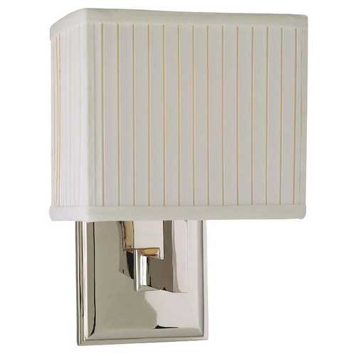 Hudson Valley Lighting Sconce with Rectangular Shade 351-PN