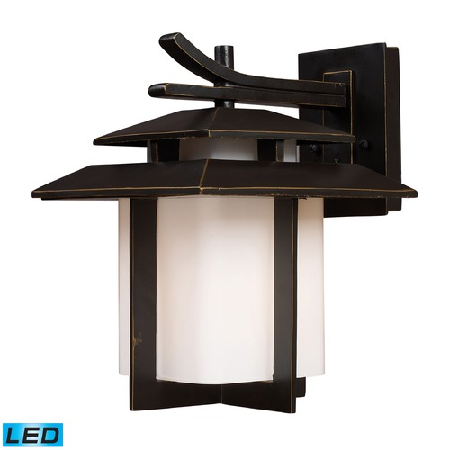 Elk Lighting Elk Lighting Kanso Hazlenut Bronze LED Outdoor Wall Light 42171/1-LED