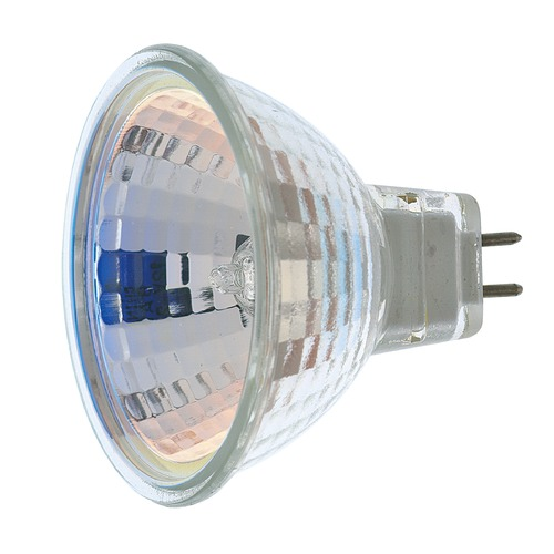 Satco Lighting MR-16 Halogen Light Bulb 2 Pin Flood 36 Degree Beam Spread 2900K 12V Dimmable S1956