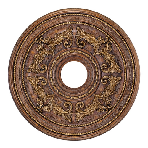 Livex Lighting Livex Lighting Crackled Greek Bronze Ceiling Medallion 8200-30