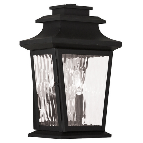 Livex Lighting Livex Lighting Hathaway Black Outdoor Wall Light 20256-04