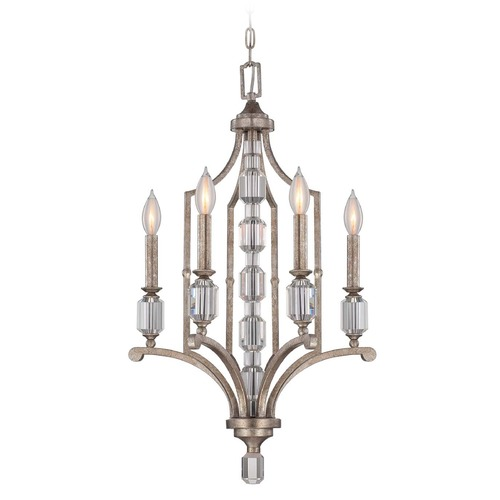 Savoy House Savoy House Silver Dust Mini-Chandelier 1-7150-4-272