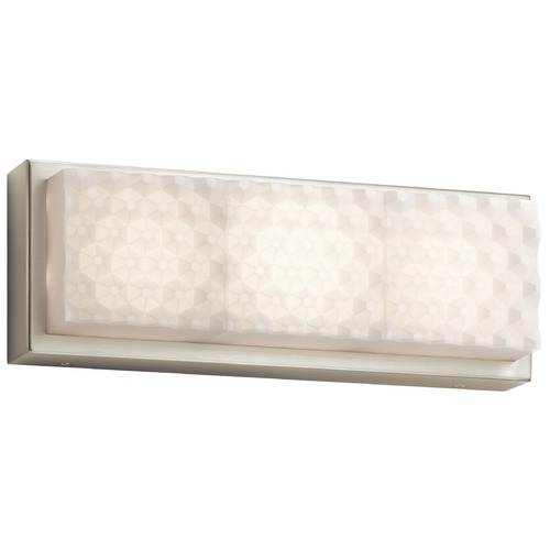 Elan Lighting Elan Lighting Merco Brushed Nickel LED Sconce 83649