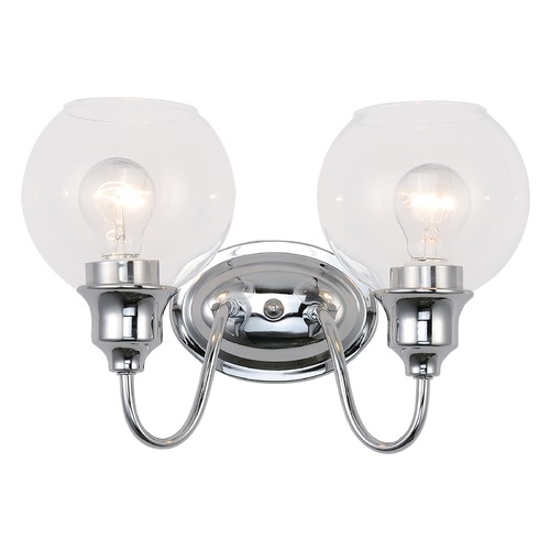 Maxim Lighting Maxim Lighting Ballord Polished Chrome Bathroom Light 1112CLPC