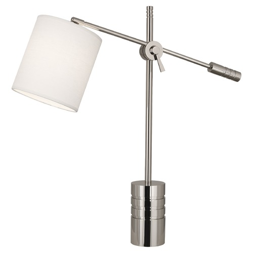 Robert Abbey Lighting Robert Abbey Lighting Campbell Table Lamp with Polished Nickel S291