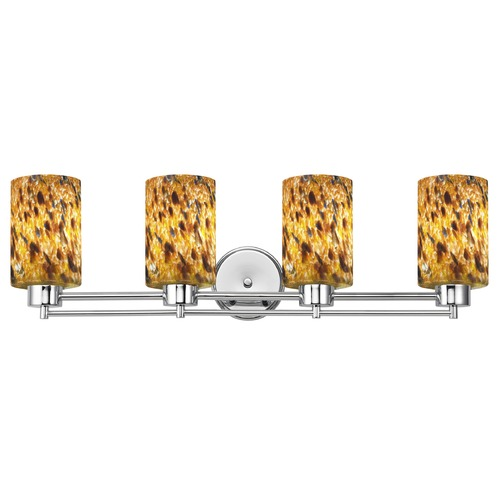 Design Classics Lighting Design Classics Salida Fuse Chrome Bathroom Light 704-26 GL1005C