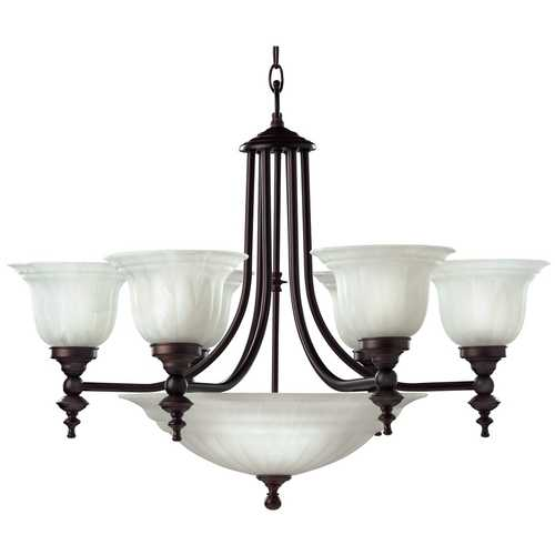Dolan Designs Lighting Nine-Light Chandelier 665-30