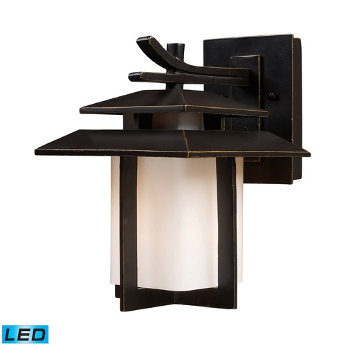 Elk Lighting Elk Lighting Kanso Hazlenut Bronze LED Outdoor Wall Light 42170/1-LED