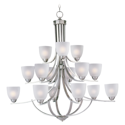 Maxim Lighting Maxim Lighting Axis Satin Nickel Chandelier 11228FTSN