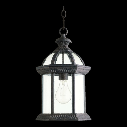 Quorum Lighting Quorum Lighting Stelton Baltic Granite Outdoor Hanging Light 7815-45
