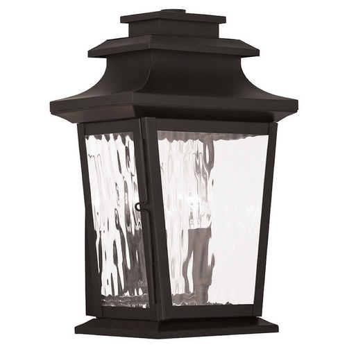 Livex Lighting Livex Lighting Hathaway Bronze Outdoor Wall Light 20256-07