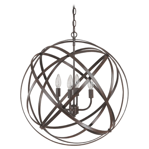 Capital Lighting Capital Lighting Russet Pendant Light 4234RS