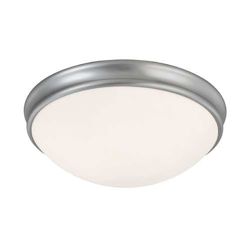 Capital Lighting Capital Lighting Matte Nickel Flushmount Light 2034MN