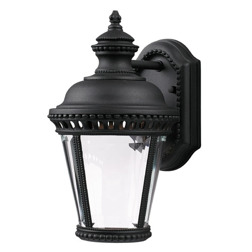 Feiss Lighting Feiss Lighting Castle Black LED Outdoor Wall Light OL1900BK-LED