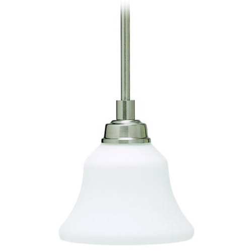 Kichler Lighting Kichler Mini-Pendant Light with White Glass 3482NI