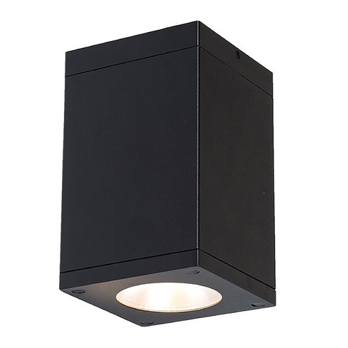 WAC Lighting Wac Lighting Cube Arch Black LED Close To Ceiling Light DC-CD05-F840-BK
