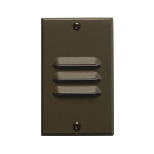 Kichler Lighting Kichler LED Recessed Step Light in Architectural Bronze Finish 12606AZ