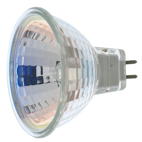 Satco Lighting MR-16 Halogen Light Bulb 2 Pin Narrow Spot 9 Degree Beam Spread 2900K 12V Dimmable S1958