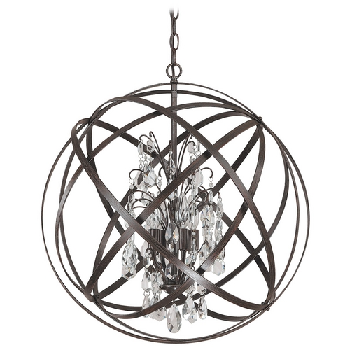 Capital Lighting Capital Lighting Russet Pendant Light 4234RS-CR