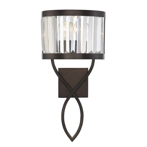 Savoy House Savoy House Lighting Nora Burnished Bronze Sconce 9-4062-1-28