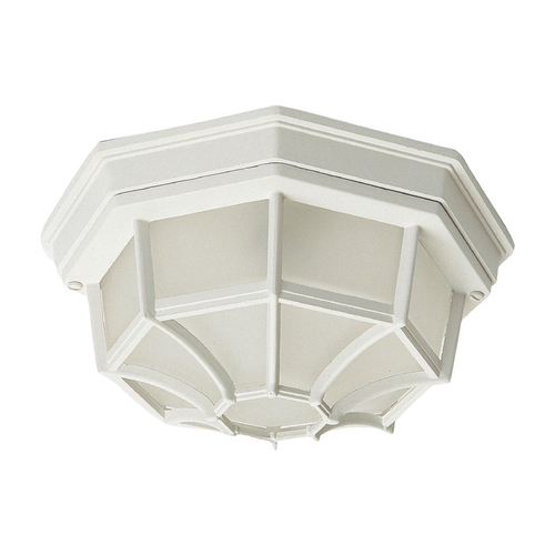 Maxim Lighting Maxim Lighting Crown Hill White Close To Ceiling Light 1020WT